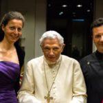 Private concert for pope emeritus Benedikt XVI in the Vatican