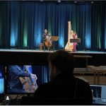 Cello-Harfe im Streamkonzert einmalig am Ostermontag um 11h